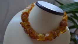 Ожерелье из натурального янтаря ′Подарок солнца′
