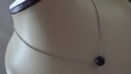 Чокер - цепочка с синим авантюрином ′Ночь Каира′