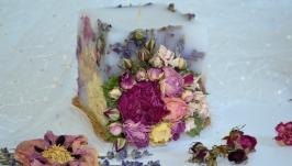 Свічка немов букет квітів