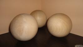 Бук. Шар деревянный 10 см