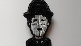 Брошь ′ Чарли Чаплин′