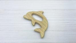 Грызунок деревянный ′Дельфин′, бук