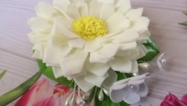 Заколка-автомат ′Полевой цветок, шт