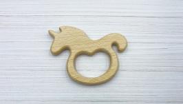 Грызунок деревянный ′Единорог′, бук