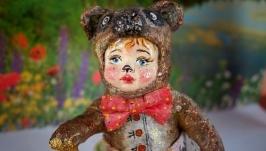 Елочная игрушка ′Мишка очень любит мед′