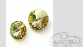 Риволи SWAROVSKI код 1122 (12,14 мм) Luminous Green