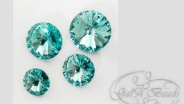 Риволи SWAROVSKI код 1122 (12 мм)  light turquoise