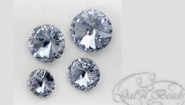 Риволи SWAROVSKI код1122 (12,14 мм) crystal blue shade