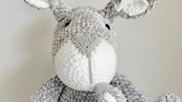 Crocheted kangaroo