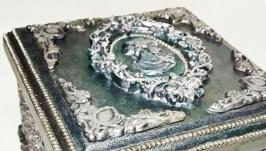 Шкатулочка′Серебряное кружево′