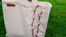 Bag shopper willow cats