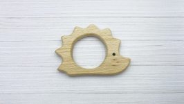 Грызунок деревянный ′Ёжик′, бук