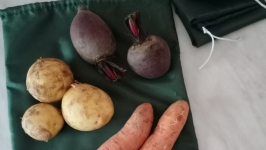 многоразовые экомешочки для овощей