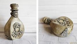 Графин для домашнего вина Красивая декоративная бутылка ′Каменная гостья′