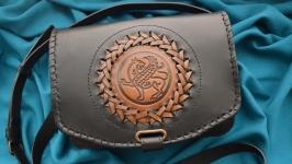 Кожаная сумка ′ГРИФОН′ для мужчин