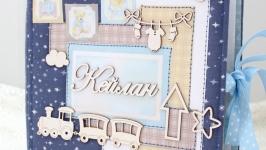 Альбом для новорожденного мальчика , фотоальбом для малыша