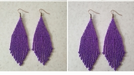 Сережки ′Фіолетові′