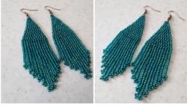 Сережки ′Зелені*