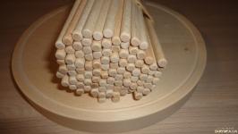 6 мм 14 см 100 штук Деревянные палочки круглые