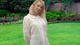 Красивая Рубашка Филейным Узором