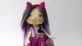 Кукла игровая из хлопка