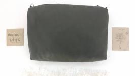 Повседневная кожаная сумка ′Соль′ (зеленый)