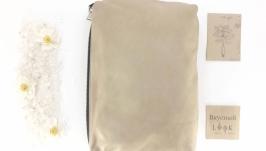 Повседневная кожаная сумка ′Соль′ (хаки)