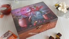 Чайная шкатулка ′Китайское чаепитие′