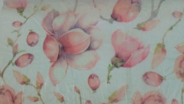 Decoupage card on rice paper Stamperia №5