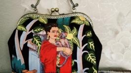 Сумочка-саквояж ′Фрида Кало′