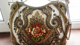 Сумка-саквояж  ′Аленький цветочек′