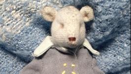 Мишка в стиле винтаж