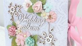 Свадебный фотоальбом , свадебный альбом скрапбукинг