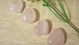 Розовый кварц сердце