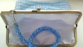 Маленькая сумочка бисерная