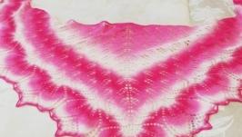 Шаль ′Розовый букет′