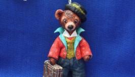 Елочная игрушка ′ Медвежонок Тедди′