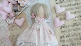Интерьерная текстильная кукла. Тильда