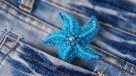 Брошка морська зірка