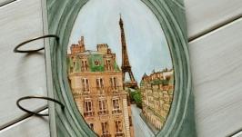 Фотоальбом из дерева 18х24см ′Окно в Париже′