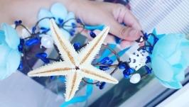 Морской веночек с ракушками