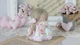 Нежная текстильная-интерьерная кукла!