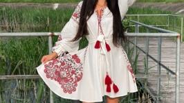 Ну очень стильное вышитое платье в Бохо стиле