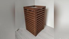 Дизайнерская тумба – светильник из дерева Tower Classic