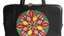 Жіноча шкіряна офісна сумка