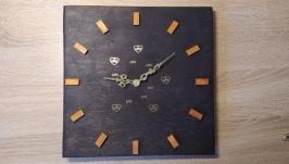 Годинники ′orange and wenge′