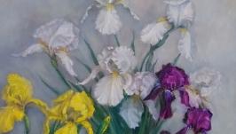 Oil painting ′ Irises ′