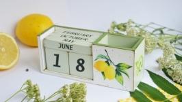 Вічний календарик ′Соковитий лимон′