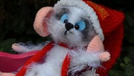 Мышь-символ года,игрушка ручной работы