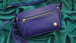 Кожаная сумка ′ЖАКЛИН′ для женщин